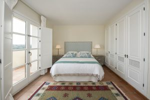 The Master Bedroom with Large Wardrobes